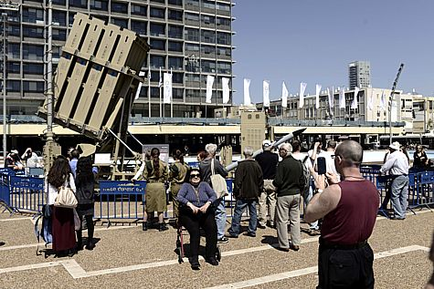 Iron Dome in Tel Aviv