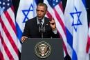 U.S. President Barack Obama at Jerusalem Convention Center, March 21, 2013.