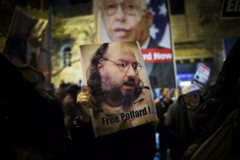 In January 2014, Israelis protest continued against U.S. incarceration of convicted Israeli agent Jonathan Pollard, then entering its 29th year.