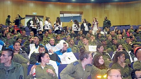 Soldiers on Purim