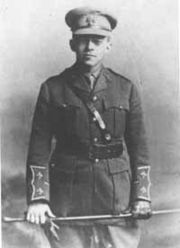 jabotinsky with sword