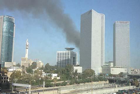 kirya fire