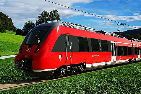 A Bombardier regional electric train currently operating in Germany.