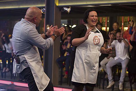Master Chef Israel 2014 winner Nof Atamna-Ismaeel.