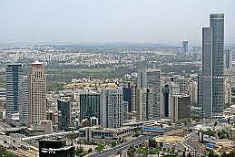 """Skyscraper City"" in Ramat Gan soon will include tehe tallest residential tower in the Middle East."