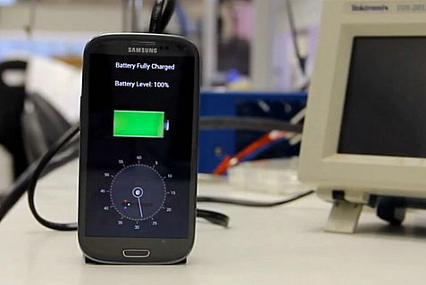 Israeli research into Alzheimer's disease resulted in the invention of this gadget that can charge up smartphones in 30 seconds.