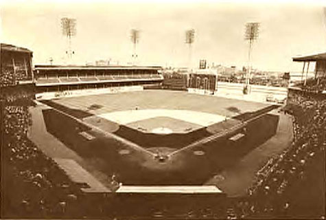 Philadelphia's Shibe Park in its heyday.