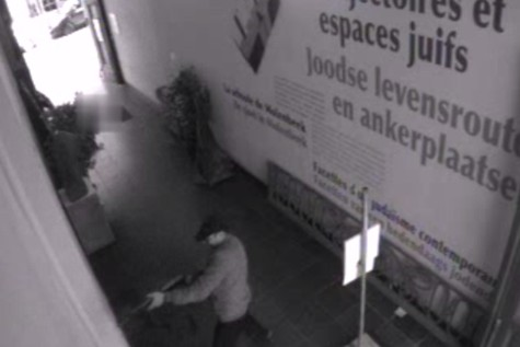 Brussels Museum Shooting CCTV