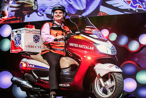Eli Beer, founder of United Hatzalah of Israel