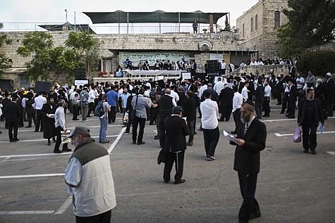 King David Tomb Protest 2