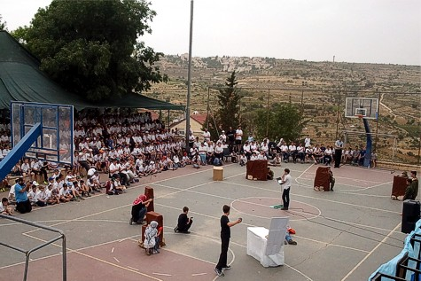 Orot Etzion Efrat students retell and reenact some of the terror attacks and battles that we remember on Yom HaZikaron.