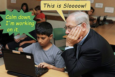 Slow Computer and Netanyahu
