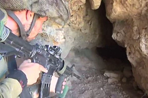 IDF soldiers are searching caves in Judea for the kidnapped yeshiva boys.