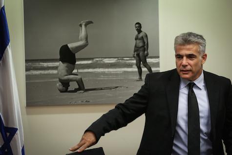 Yesh Atid Chairman Yair Lapid.
