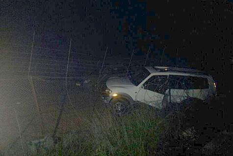 Lebanese Car Crash Fence
