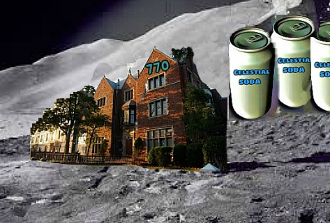 Chabad House on the Moon (plus soda, of course)