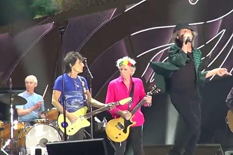 Rolling Stones Playing Tel Aviv