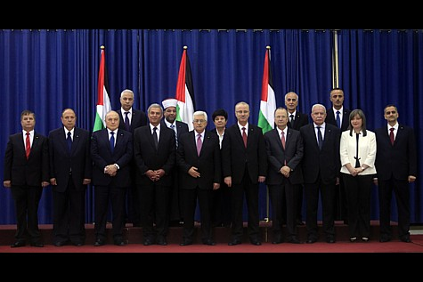 Terrorists in suits: The new Hamas-Fatah unity government.