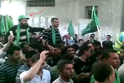 The terrorist Ziad Awad gets a hero's welcome from his friends and neighbors.