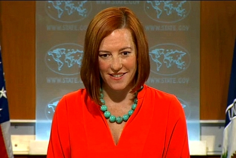 State Dept. Spokesperson Jen Psaki at Daily Briefing on June 2, 2014.