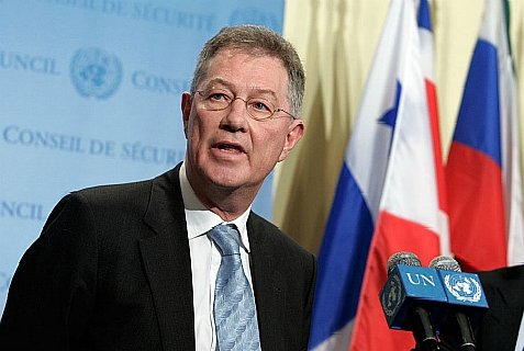 Robert H. Serry, U.N. Special Special Coordinator for the Middle East Peace Process.