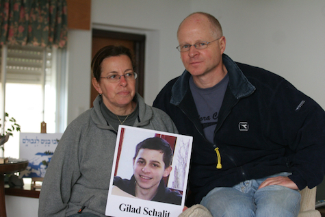Aviva & Noam Shalit during Gilad's captivity