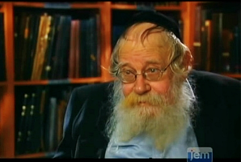 Rabbi Adin Even-Yisrael Steinsaltz, Rosh Yeshiva of Mekor Chaim, where the three missing boys are students.