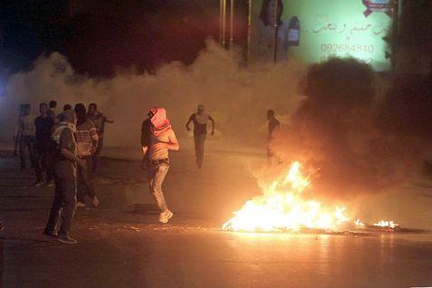 Arab fires near Bet El