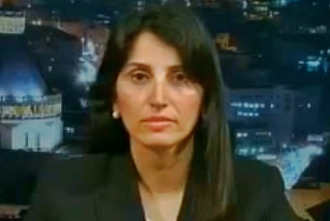 "Diana Bhutto, ""human rights"" lawyer and former PLO adviser. July 10,2014"
