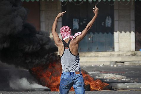 Arabs clash with police in Shuafat. Look