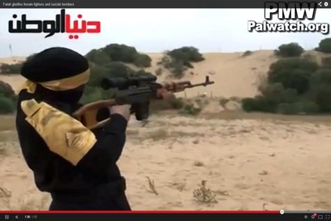 Female Fatah Terorrist