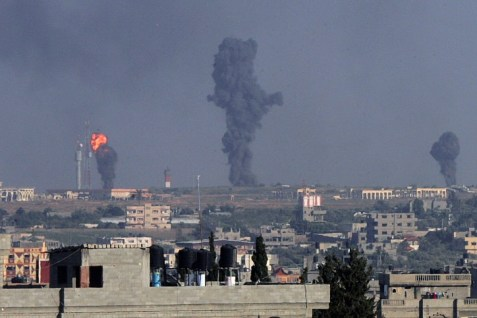Gaza after being hit by the IDF. If Israel hasn't knocked out Hamas by now, why should this time be any different?