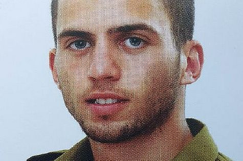 IDF Staff Sgt. Oron Shaul, hy'd, fell in action Sunday, July 20, 2014 with six comrades when his APC was hit by an anti-tank missile fired by terrorists in Gaza. Declared dead Friday, July 25, 2014. May God avenge his blood.
