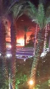 Rocket hits Eilat Hotel 4