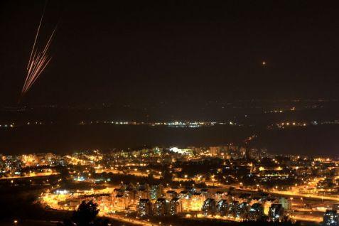 Rockets over Tel Aviv