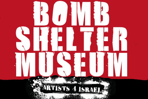 Artists 4 Israel have created a mobile Bomb Shelter Museum.