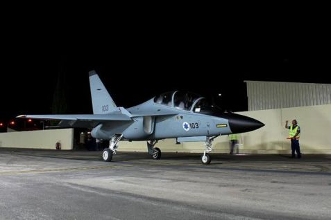 The Lavi training jet.