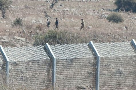 Syrian Rebels along Israeli Border