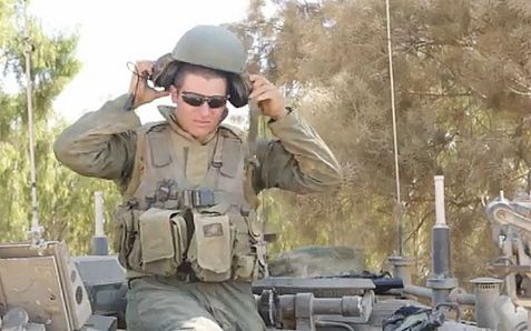 Lt. Adam Landau faced terrorists hiding behind children in Gaza.