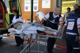 Man evacuated by ambulance in Ashkelon (file)