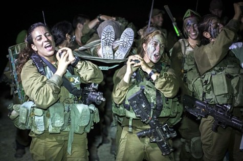 Girls IDF Caracal