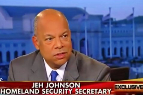 Secretary of U.S. Homeland Security Jeh Johnson