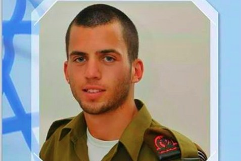 """Staff Sgt. Oron Shaul, HY""""D, killed in Operation Protective Edge."""