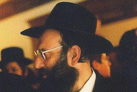 "Rabbi Moshe Twersky, z""l."
