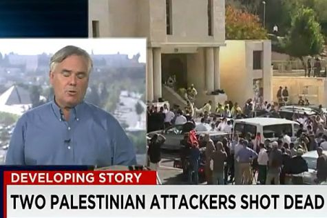 "CNN stays ""objective"" and coldly reports that Israelis and ""Palestinians"" were killed. Terror? What terror?"