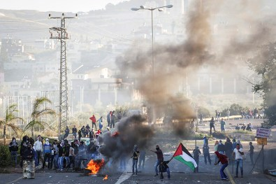 Arabs with Israeli citizenship riot in the northern Galilee Saturday.