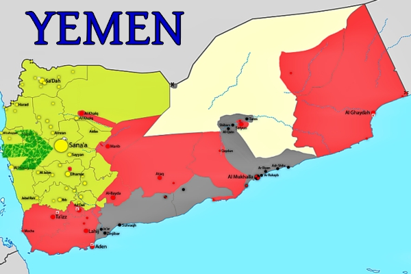 The capital of Yemen is Sana'a