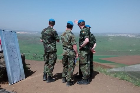 UN on Mount Bental 2