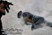 A Hamas execution.