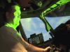 Pilot blinded by laser beam (illustration photo)
